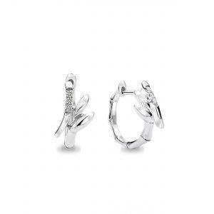 9K White Gold Diamond Earrings – DE5026
